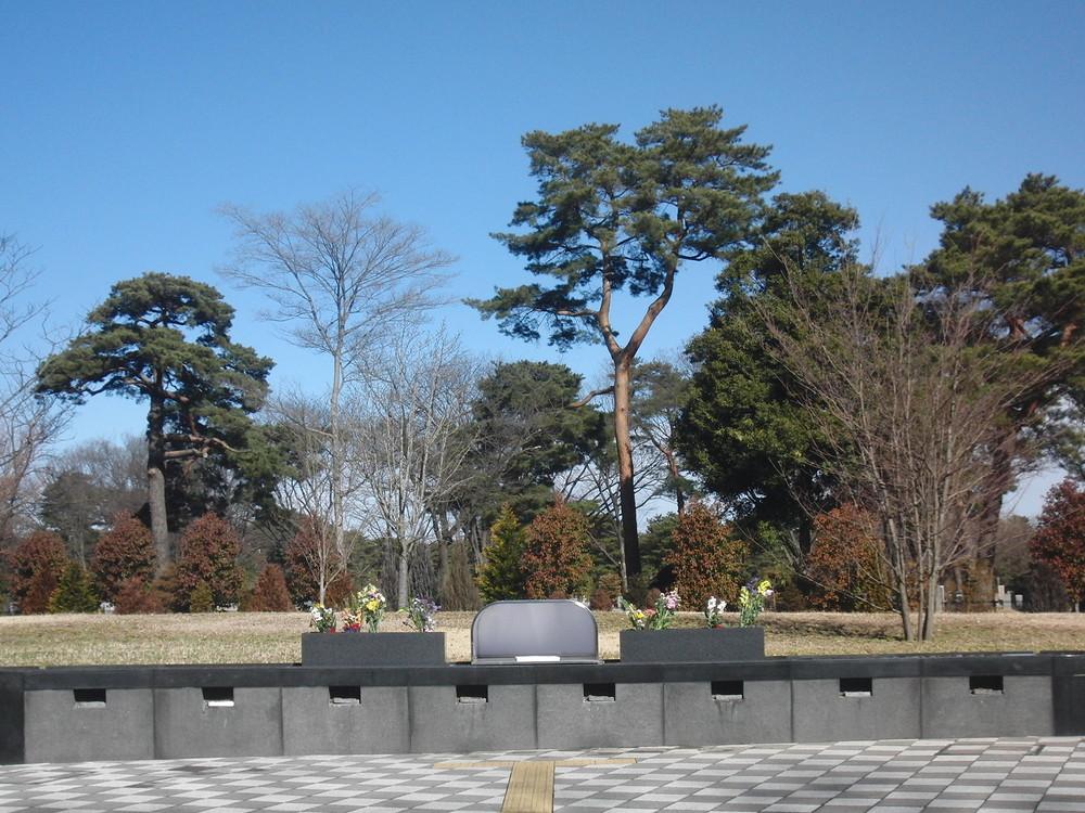 樹林合葬埋蔵施設