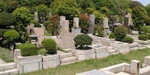 一般墓地墓域写真